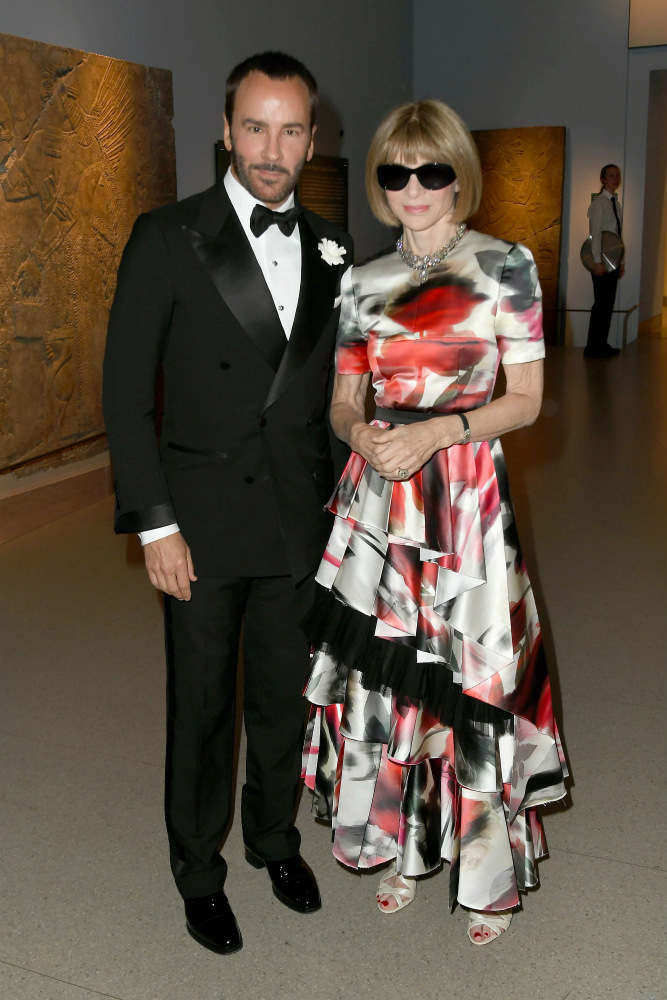 Tom Ford y Anna Wintour